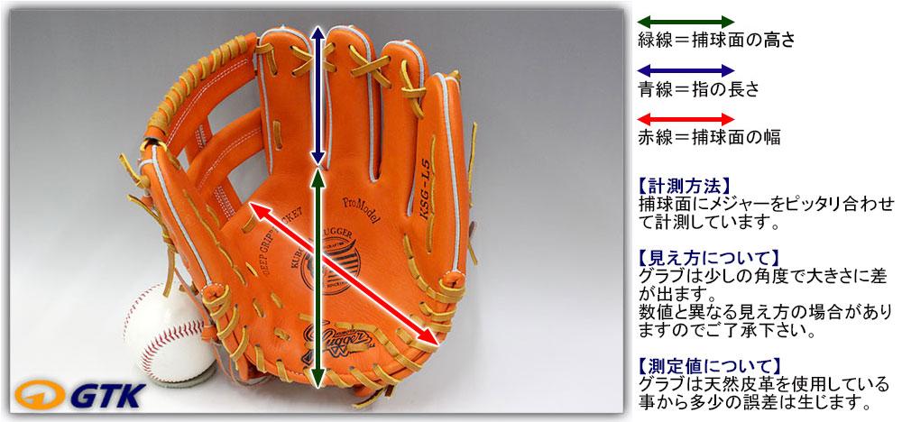 グローブ 大きさ 久保田スラッガーグラブサイズ一覧表 ベースボール