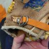 ミズノのヴィンテージグローブ ベルト修理4